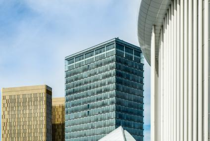 Luxembourg Architecture Photographer | Kirchberg